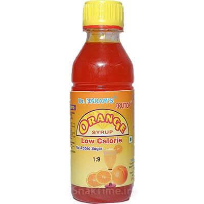 Orange Sugar Free Syrup